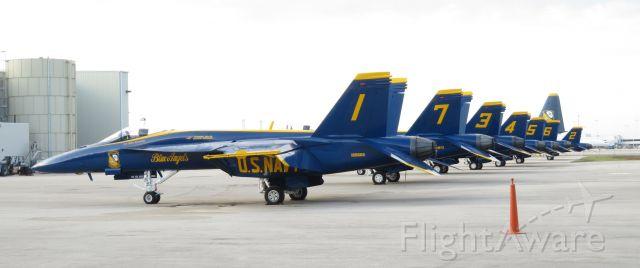 McDonnell Douglas FA-18 Hornet (16-5666) - 5/8/2021 air show