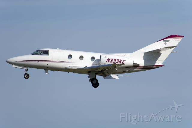 Dassault Falcon 10 (N333KE) - Nice to see this 1974 Falcon 10 going strong.