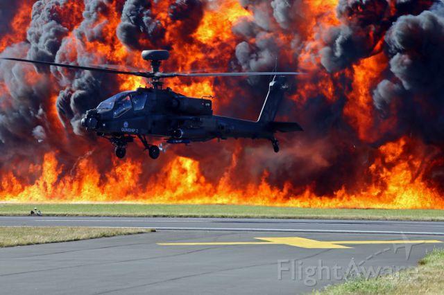 — — - RAF Apache at RIAT, Fairford, UK