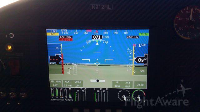 Experimental 100kts-200kts (N212RL) - Falcon LS by Renegade Light Sport. Grand Rapids Glass Panel.