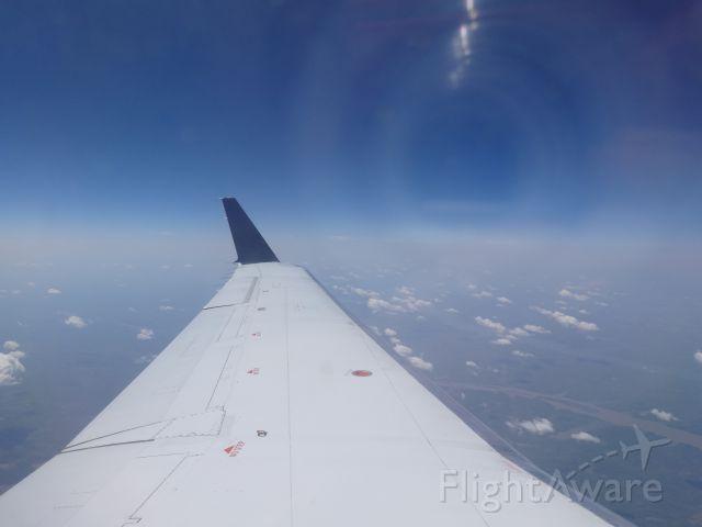Canadair Regional Jet CRJ-200 (N8903A) - Cruising. En-Route to MSP.