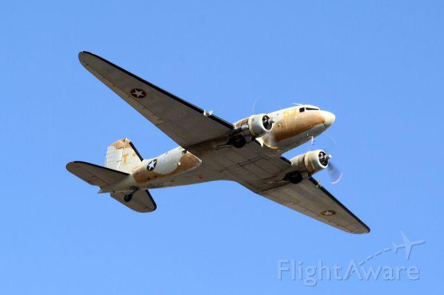 N53ST — - Douglas DC-3/C-47 Skytrain (N53ST) - Scottsdale Air Fair - November 2011