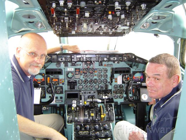 McDonnell Douglas MD-80 — - In memory of my good friend and co-pilot Col. James Powers