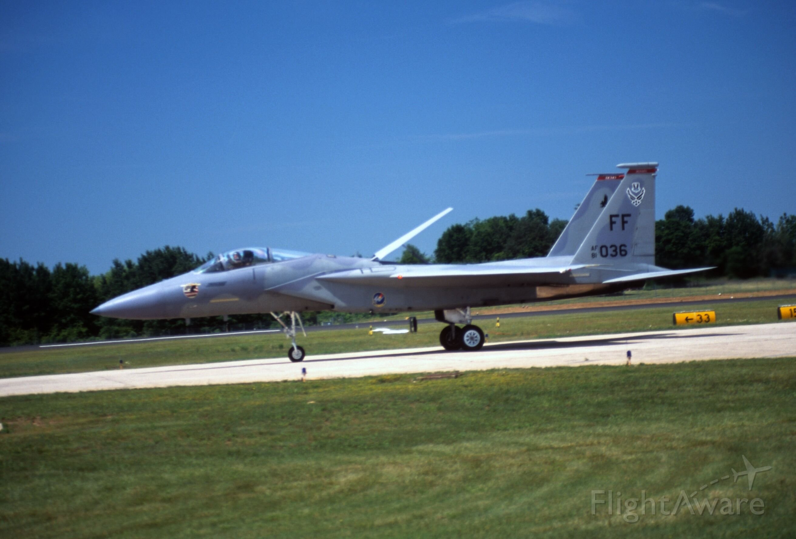McDonnell Douglas F-15 Eagle — - Willow Grove JRB