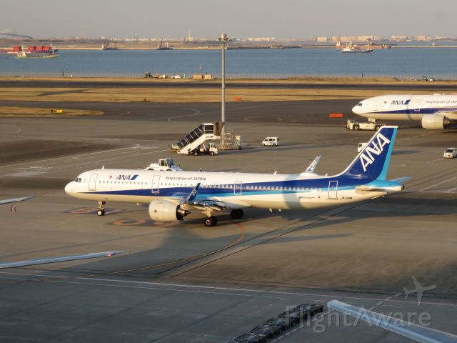 Airbus A321 (JA138A)