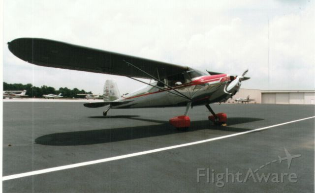Cessna 140 (N140P) - when it was polished instead of painted.
