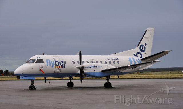 Saab 340 (G-LGNM) - Inverness Flybe Loganair Saab 340B G-LGNM in Inverness