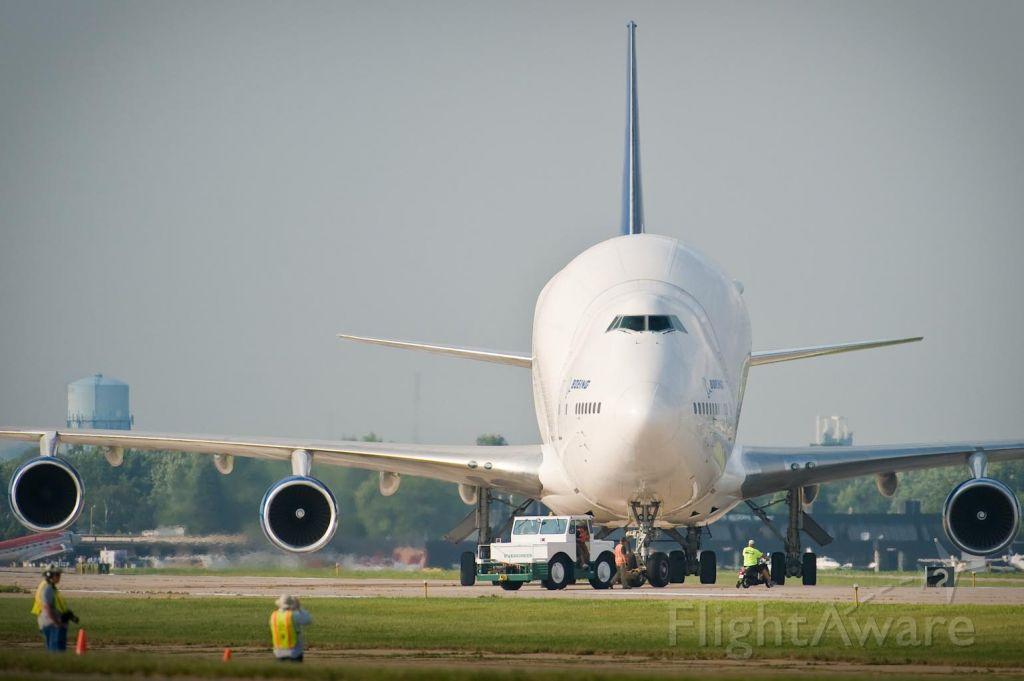 Boeing 747-400 (N249BA) - One of Boeing