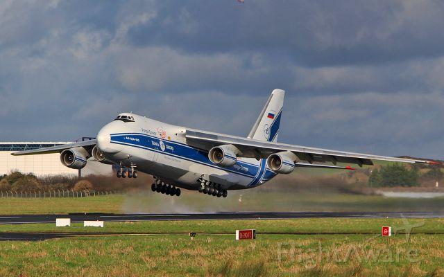 Antonov An-124 Ruslan (RA-82043) - volga-dnepr a124 ra-82043 dep shannon 7/2/17.