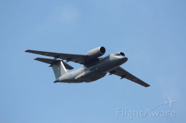 Antonov An-74-200 — - An-72 taking part in flypast over Kiev on Independence day, 2021