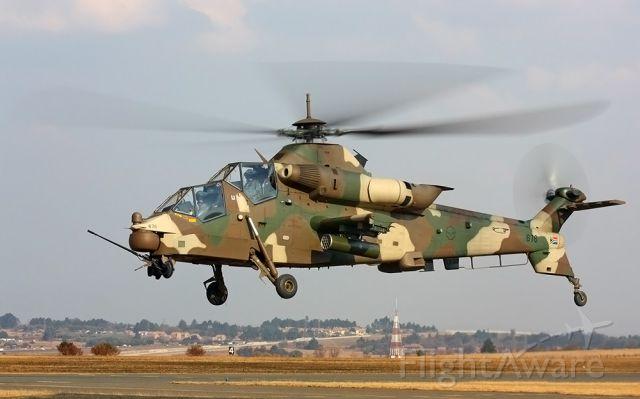SAAF676 — - Rooivalk AHS Attack Helicopter