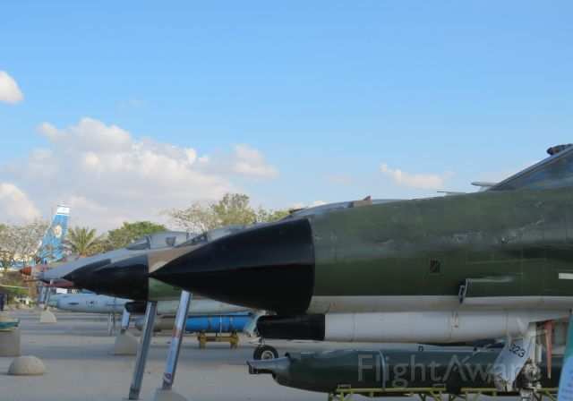 McDonnell Douglas F-4 Phantom 2 — - Lineup of Israeli Air force planes at the israel Air force Museum