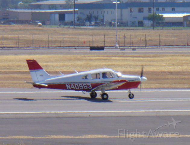 Piper Cherokee (N40963) - 27R, 6/16/08