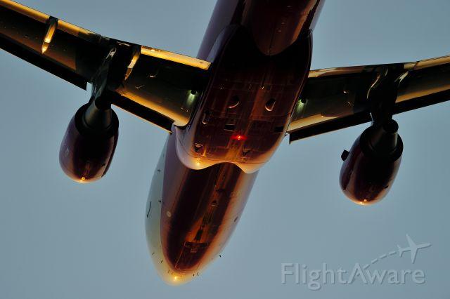 Airbus A320 (JA816P)