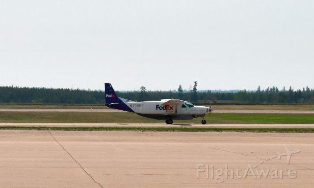 Cessna Caravan (N795FE) - FedEx Cessna 208B Super Cargomaster N795FE in Marquette, MI