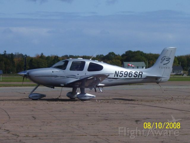 Cirrus SR-22 (N596SR)