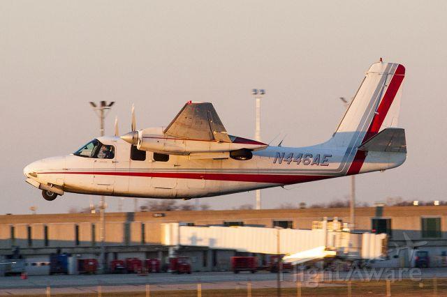 Aero Commander 500 (N446AE)