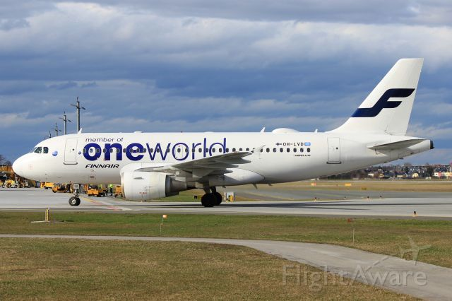 Airbus A319 (OH-LVD)