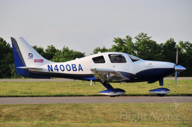 Cessna 400 (N400BA) - N400BA  Cessna C400 Corvalis  KFDK  20100607