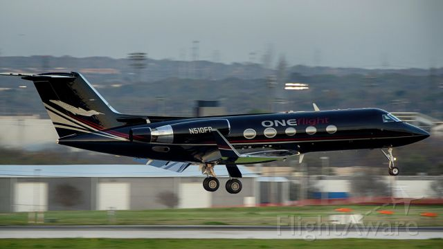 Gulfstream Aerospace Gulfstream 3 (N510FR) - 13R arrival.