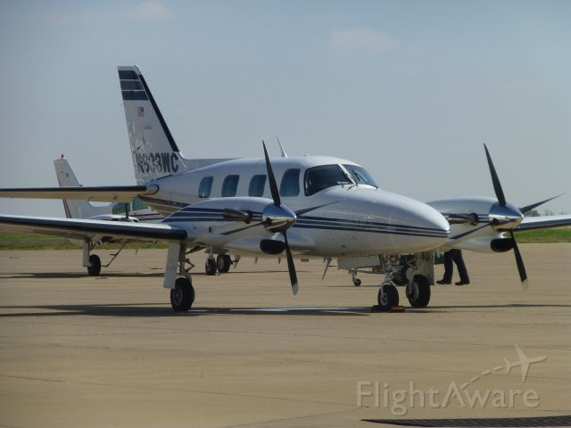 Piper Cheyenne (N633WC)