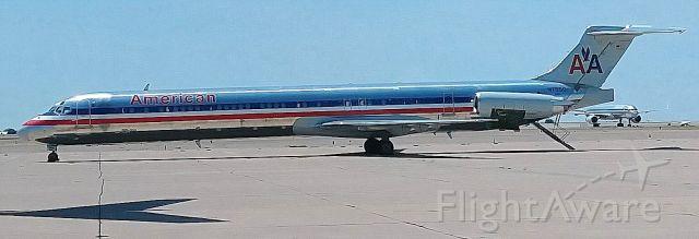 McDonnell Douglas MD-82 (N7550) - Mothballed at KROW Boneyard on 08/21/18