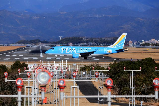 JA02FJ — - Fuji Dream Airlines JA02FJ light blue