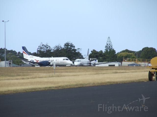 Saab 340 (VH-ZXQ) - Regional Express SAAB 340B's VH-ZXQ (cn 423) and VH-ZLC (cn 373) at Wynyard Airport Tasmania Australia. March 11, 2019.