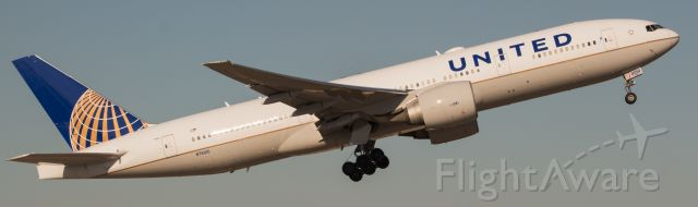 Boeing 777-200 (N76010) - LOVE hearing those GE90's on the 777!