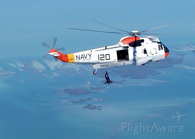 14-8965 — - NAS Key West Air Show helo paradrops.