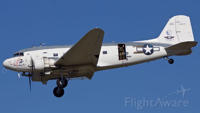"""Douglas DC-3 (N151ZE) - R4D """"Ready For Duty"""" Performing at the 2018 Commemorative Air Force Wings Over Dallas Airshow (Please view in """"full"""" for highest image quality)"""