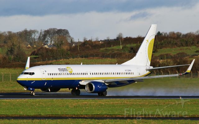 Boeing 737-800 (N732MA) - miami air b737-8 n732ma dep shannon 10/1/16.