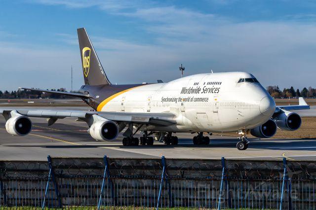 Boeing 747-400 (N578UP) -  Boeing 747-45E(BCF) N578UP United Parcel Service (UPS)