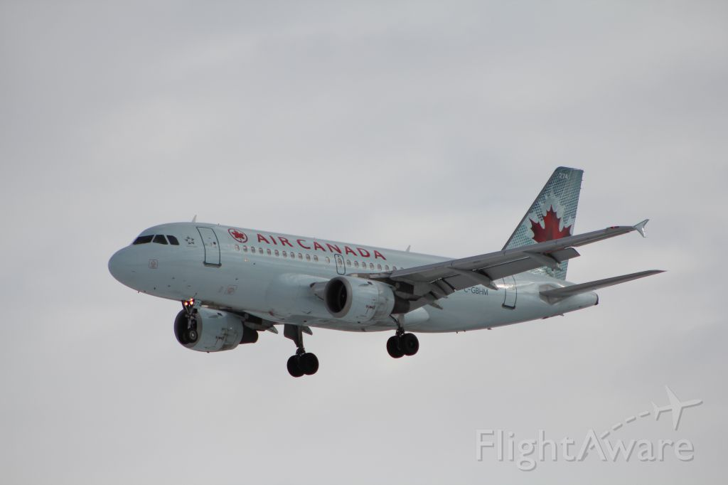 Airbus A319 (C-GBHM)