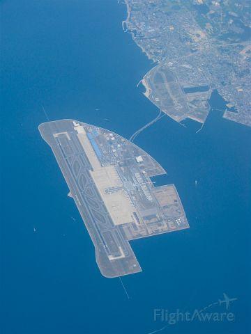 — — - Chubu-Centrair Airport (Nagoya, Japan) Man-made island. While flying to Tokyo-Haneda.
