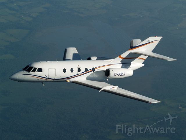 Dassault Falcon 20 (C-FSJI) - Air to Air photo shoot