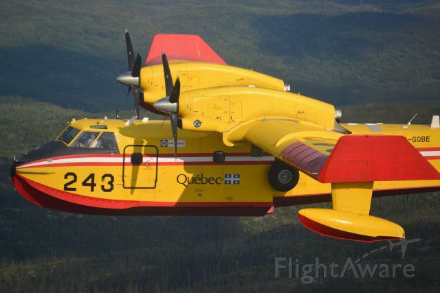Canadair CL-415 SuperScooper (C-GQBE)