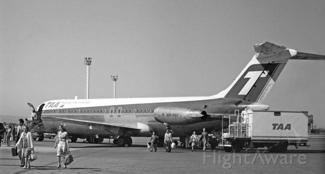 McDonnell Douglas DC-9-30 (VH-TJJ) - Adelaide, South Australia, October 12, 1981.