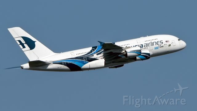 Airbus A380-800 (9M-MNF) - malaysia airlines