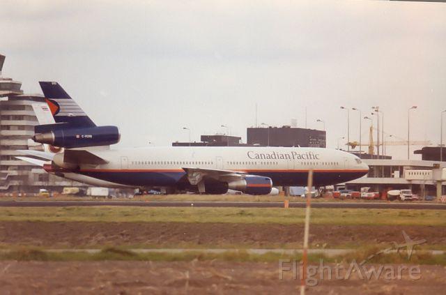 McDonnell Douglas DC-10 — - Canadian Airlines Int. DC10-30 archief 1987