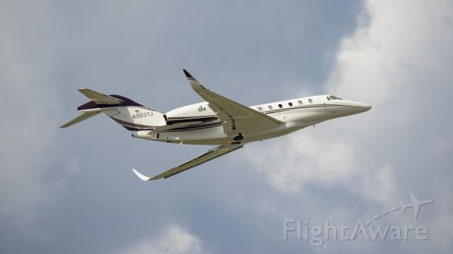 Cessna Citation X (N953TJ) - Departing 13Rbr /6/2/17