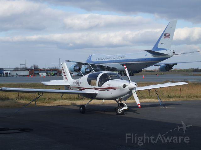N648XL — - Liberty XL-2 from TAA Flight Training, LLC. with Air Force One behind it.     By: Austin Farnham