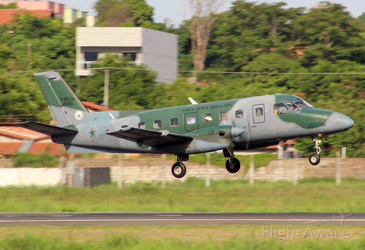FAB2340 — - FAB2340 - Embraer C-95CM Bandeirante