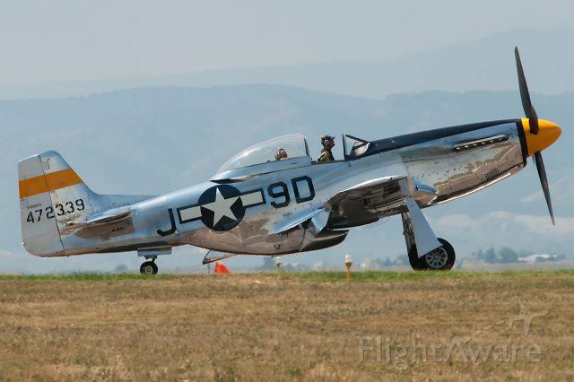 North American P-51 Mustang (N251JC)