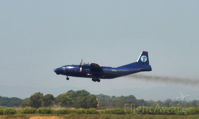 Antonov An-12 (UR-CZZ) - Ukraine Air Alliance Antonov An-12BP UR-CZZ in Roma Fiumicino