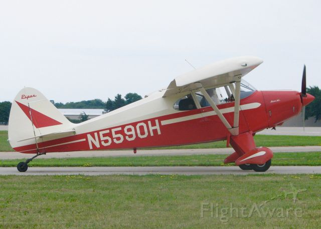 Piper PA-20 Pacer (N5590H) - At AirVenture 2016.
