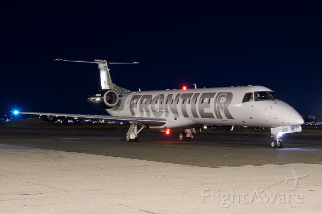 Embraer ERJ-145 (N270SK) - In Frontier colors about to depart the ramp.