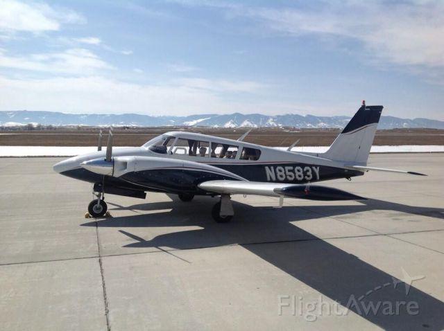 Piper PA-30 Twin Comanche (N8583Y) - Piper Twin  Comanche