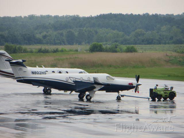 Pilatus PC-12 (N802HS)