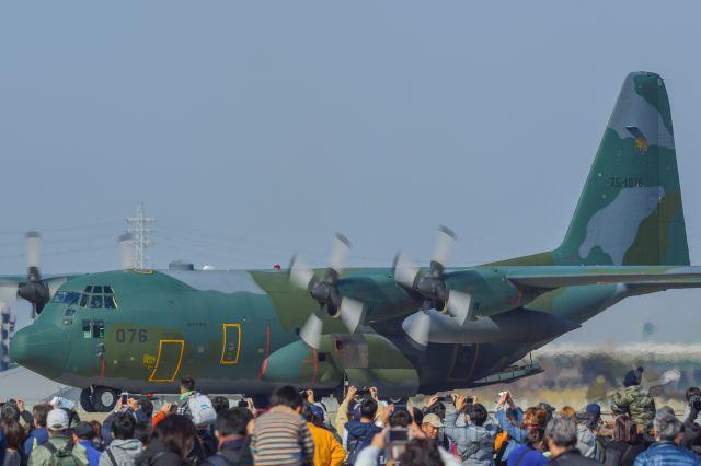 Lockheed C-130 Hercules — - 5.Mar.2017<br />JASDF C-130H